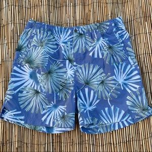 TOMMY BAHAMA PALM TREE SWIM TRUNKS SZ L